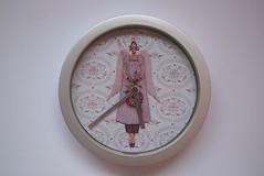 Relógio de parede by Laura Manualidades