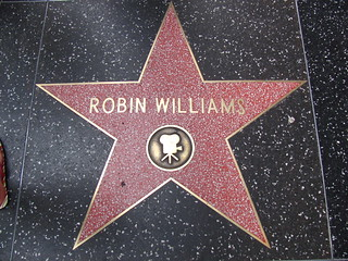 Robin Williams' Star on Hollywood Boulevard | by Castles, Capes & Clones