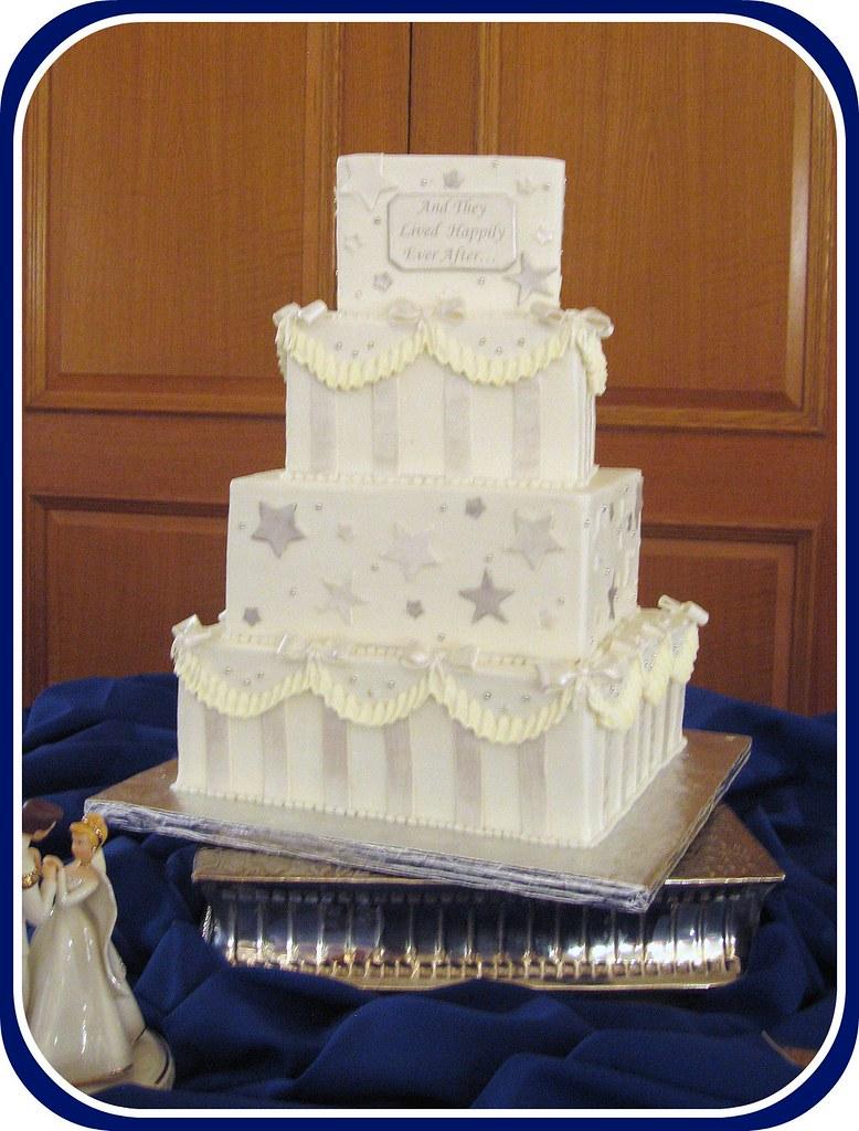 Cinderella Wedding Cake Topper Set