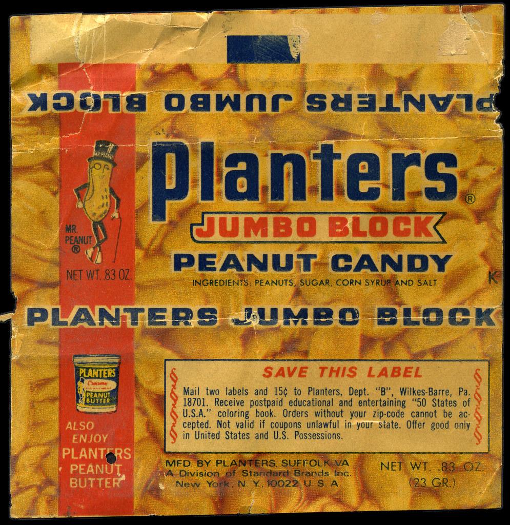 Planters Jumbo on jumbo candles, jumbo toys, jumbo wall art,