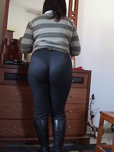 Big ass wife first black