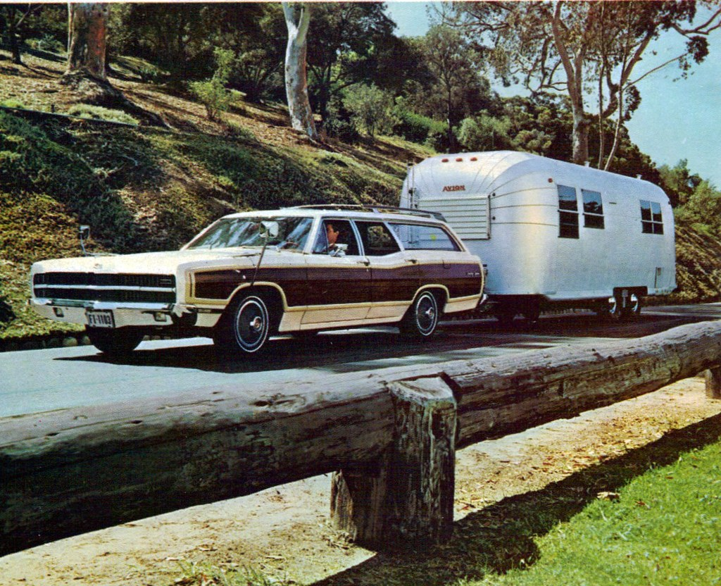 Image result for Ford station wagon with trailer