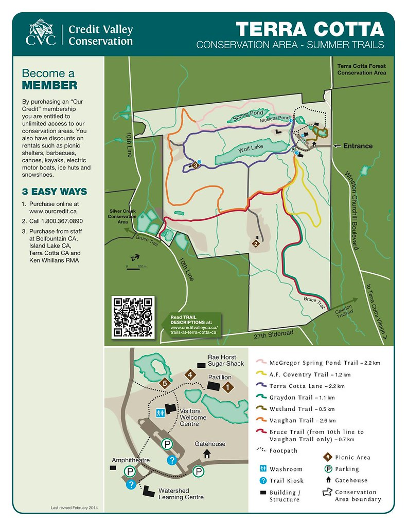 Terra Cotta Trail Map