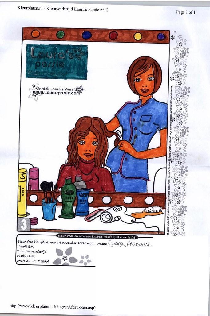 Lp Kleurwedstrijd Beauty Stylist 096 Carina B Ubisoft Nederland