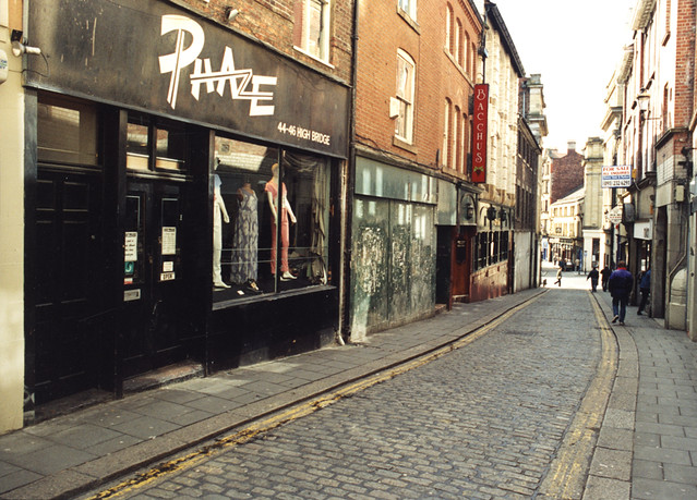 Newcastle's top five vintage shops. It may have a limited amount of clothes but with good pricing, cute mini backpacks and printed one-off Levi's, they certainly make up for it.