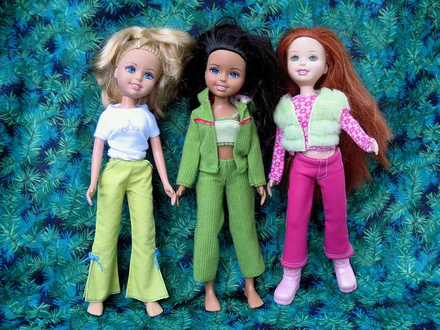 Wee 3 Friends Dolls Vinyl 10 Quot Mattel Dolls 2004 Barbie