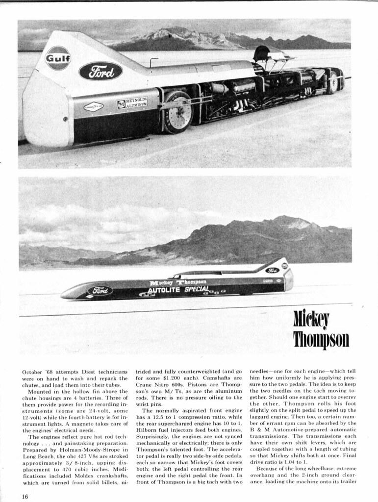 1969 Mickey Thompson LSR Car,page 6 | David Rider | Flickr