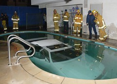 Car into Pool. #2 | by LAFD