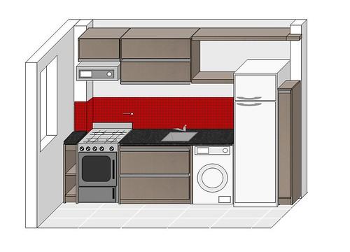 Dise o de cocina dise o de m dulos de cocina en melamina for Diseno de cocinas 3d gratis