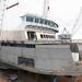 Lifting pilothouse onto Chetzemoka
