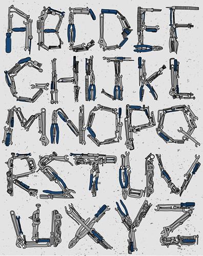 tools handmade typeface tim degner tim degner flickr