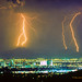 Thunderstorm Striking Phoenix Arziona