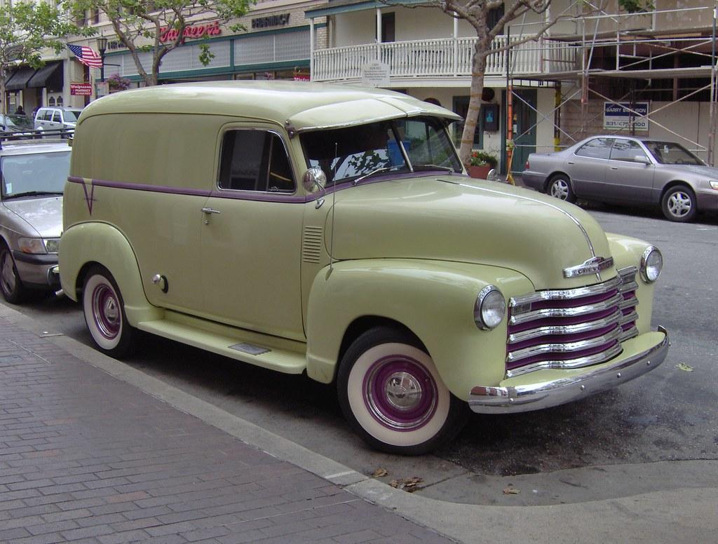 1952 3 Chevy Deluxe Panel Truck Monterey California 09 Flickr 1951 By Reidbrand