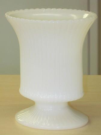 Vintage Milkglass Vase My Latest Acquisition A 5 Milk Gl Flickr