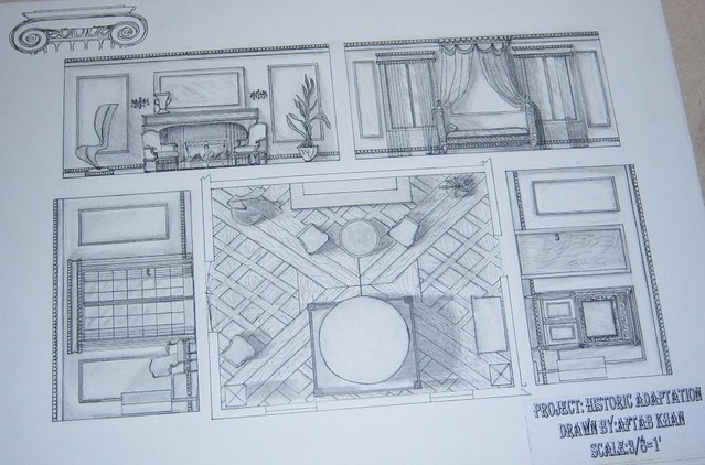 Historic Room Elevation Floor Plan Wishdesigner Flickr