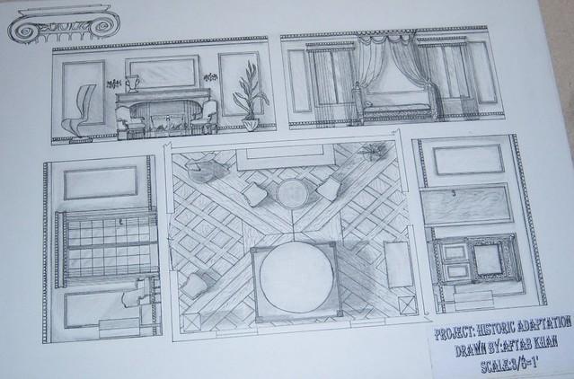 Historic Room Elevation Floor Plan Wishdesigner Flickr