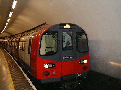 Northern Line Train Northern Line Train Bound For