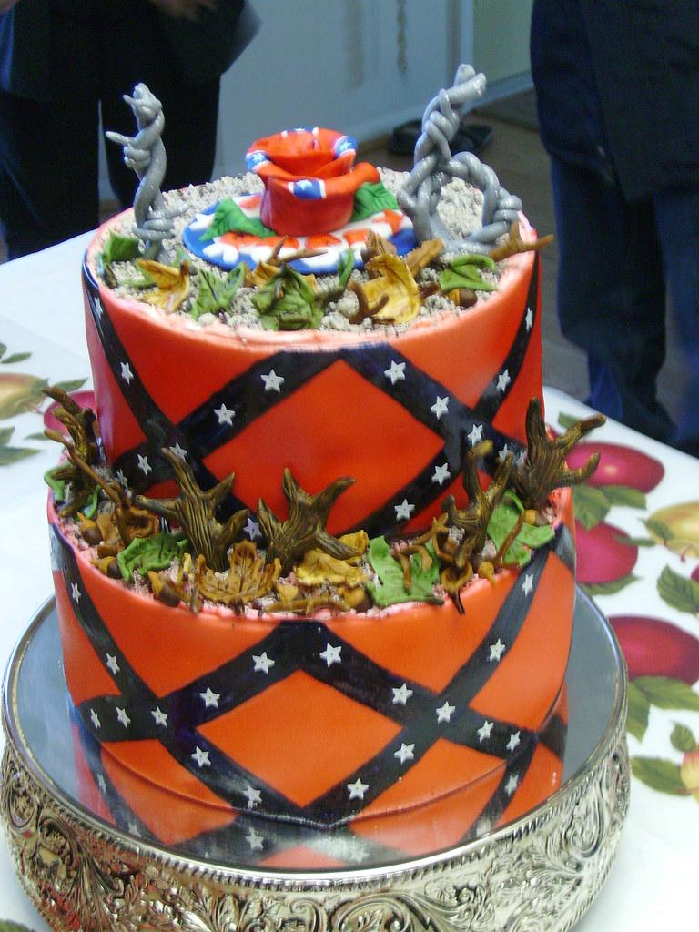 Rebel Flag Cake Images