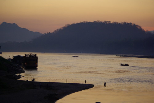 The Mekong, Laos | by The Hungry Cyclist