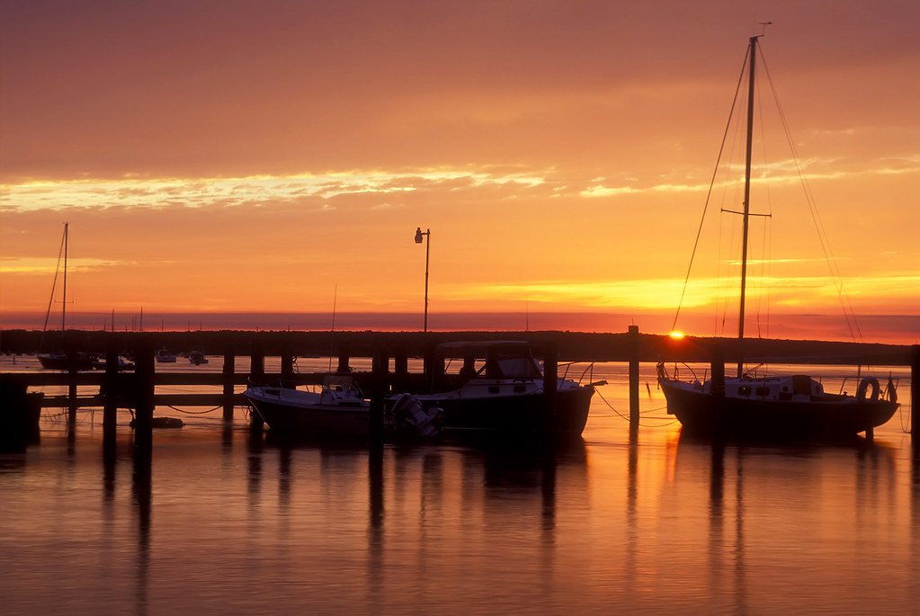 Westport Ma The Mosquitoe Sunset Shot With 35mm Fuji