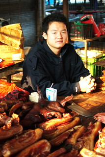 The Butcher - Cycling and Eating In Yunnan | by The Hungry Cyclist