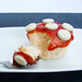 Strawberry Cotton Soft Cheesecakes