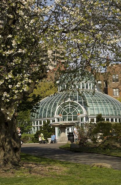 The Palm House In Brooklyn Botanic Garden Brooklyn New Y Flickr