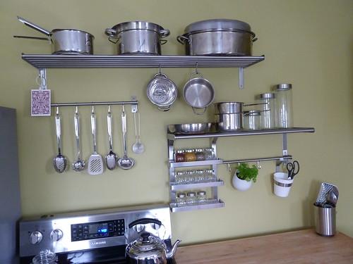 grundtal rails shelves and accessories organization cour flickr. Black Bedroom Furniture Sets. Home Design Ideas