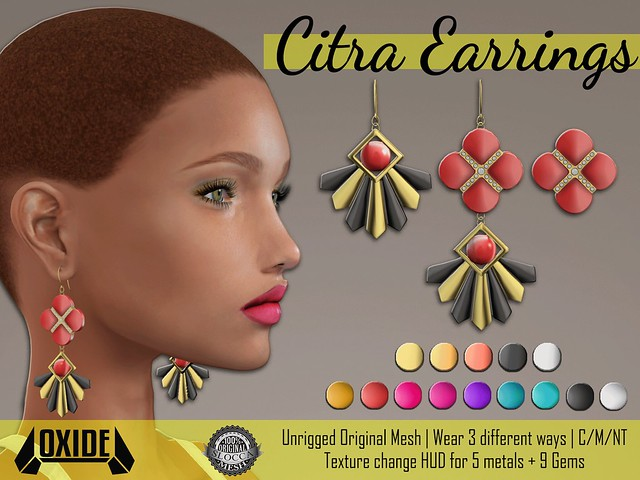 OXIDE Citra Earrings