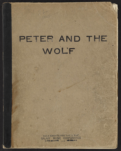 Peter and the Wolf [Front cover] | by Boston Public Library