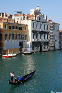 Grand Canal et gondole / Big channel and gondola | by Marc Lagneau