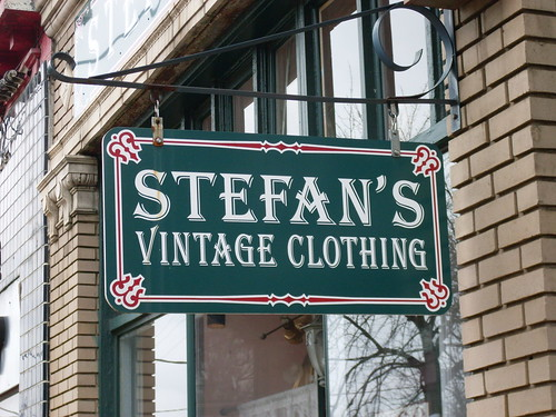 atlanta stefan s vintage clothing sign
