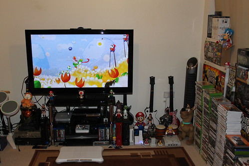 Ps3 gaming setup room