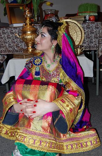 Afghan Bride. -