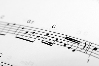 C scale notation over musical staff | by Horia Varlan