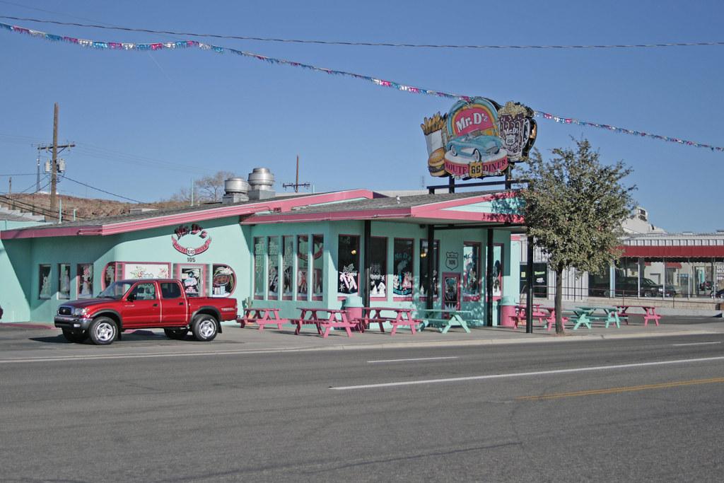 Mr Dz Route 66 Diner Kingman Arizona Usa Mr Dz