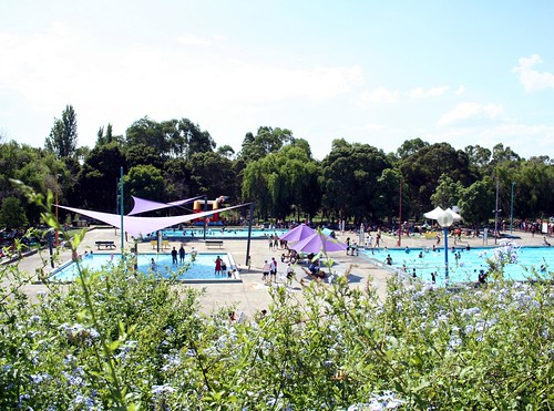 view from the top | by save coburg olympic pool