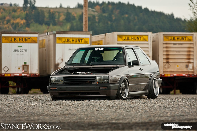StanceWorks EXCLUSIVE: Jason's Mk2 Jetta Coupe - 9269 | Flickr