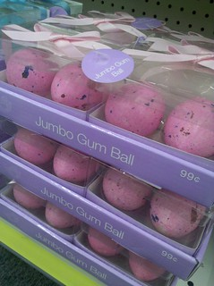 CVS (Laguna Hills) - Pink Jumbo Gum Balls - the size of small chicken eggs | by cybele-