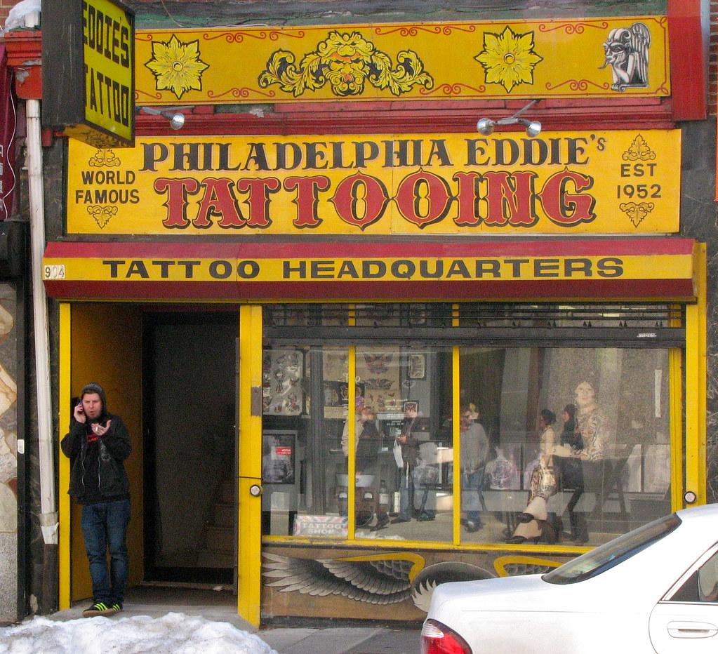 Eddie 39 s tattoo philadelphia eddie 39 s tattoo parlor on for Eddies tattoos philadelphia