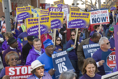 Rally for Healthcare Reform | by SEIU International
