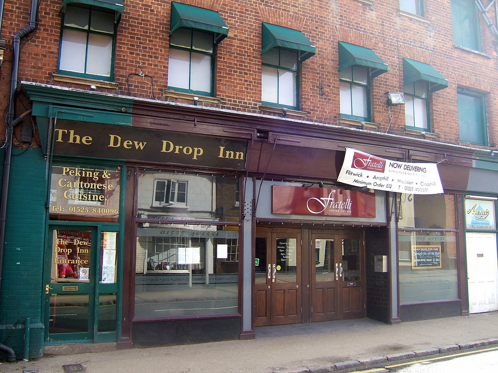 Dew Drop Inn, Fratellis Restaurant, Arena Restaurant | Flickr