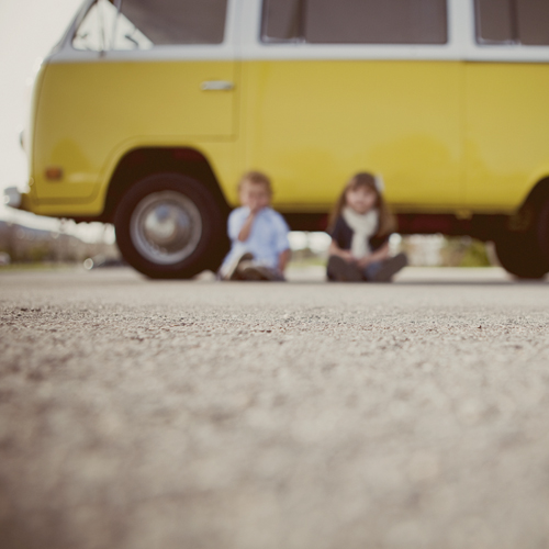little yellow bus | by threelittlebirds {Mindy J}