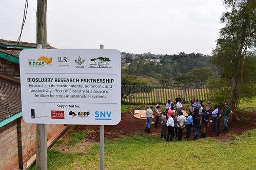 Bioslurry research partnership