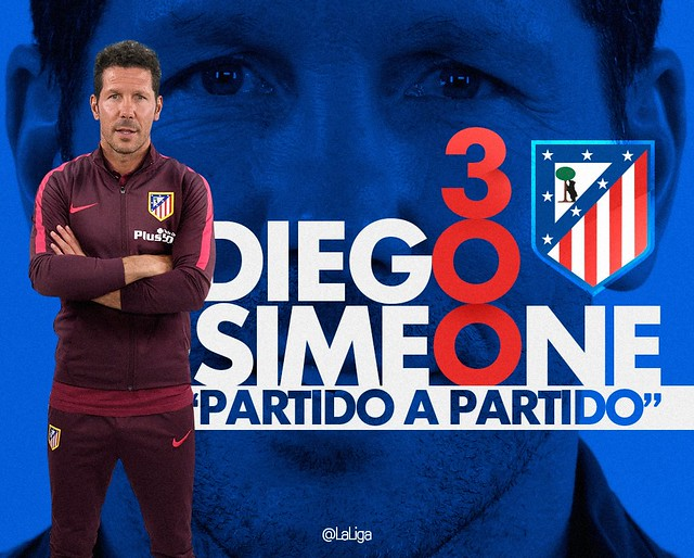 Diego Simeone: 300 partidos con el Atlético de Madrid