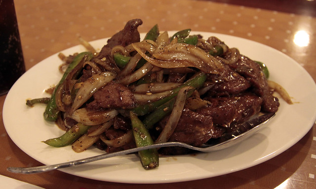 Chinese Steak with black bean sauce, hot peppers, and ginger | Flickr ...