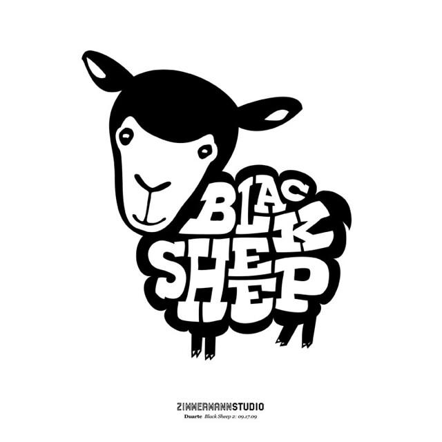 black sheep logo black sheep logo design denis zimmermann flickr. Black Bedroom Furniture Sets. Home Design Ideas
