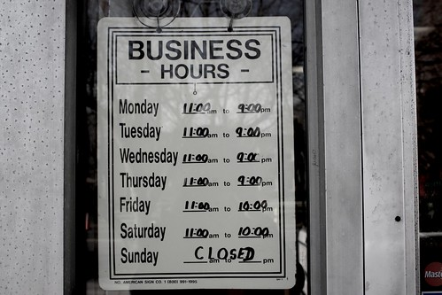 Business Hours at Franco's Pizza | by RadioTripPictures