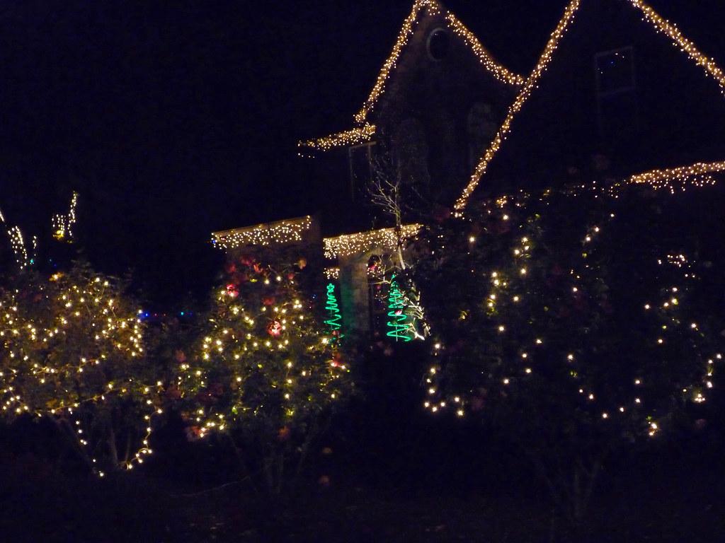 Christmas Tree Lane In Fresno