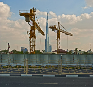 They have now taken all the cranes off the burj Dubai | by saharsh